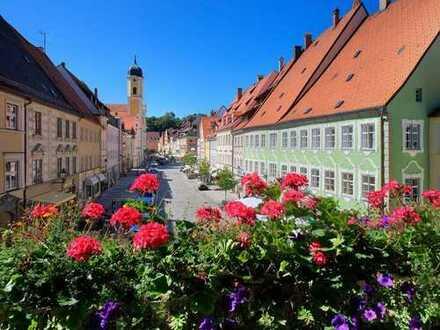Altstadtwohnung mit Innenhofterrasse