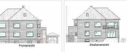 Auf repräsentativem Grundstück: Unten Büro - oben Wohnen