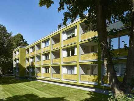 3-Zimmer-Hochparterre-Wohnung mit Balkon in Landshut, BJ 2016