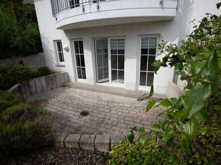 Souterrain Wohnung am Kapellenberg mit Terrasse