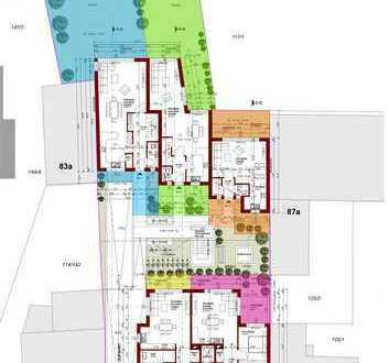 Neubau 1Familien-Reihenhaus mit 2 Terrassen & Garten in FRANKFURT-Schwanheim