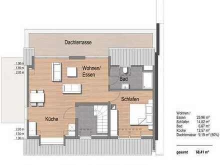 Exklusive 2-Zimmer-Traumwohnung (DG) im Duisburger Süden