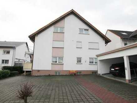 Gepflegte 2-Zimmer-Wohnung mit Balkon und Einbauküche in Nidderau
