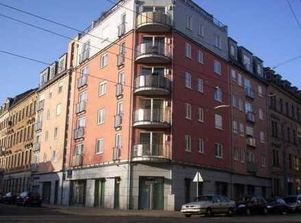 Zentrumsnahe, attraktive 2-Zimmer-Wohnung im 1. Obergeschoss mit Balkon & Lift im Haus