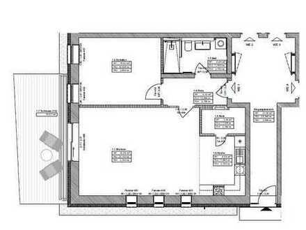 Erstbezug mit Einbauküche und Terrasse: stilvolle, geräumige 2-Zimmer-Wohnung in Spandau, Berlin