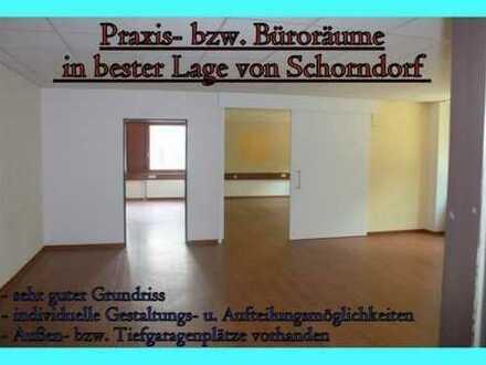 **Büro-/Praxisfläche mit ca. 141 qm in bester Lage zum TOP Preis in Schorndorf**