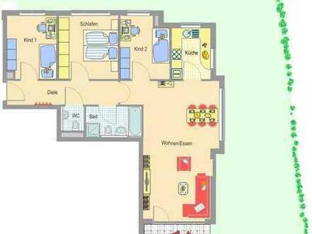 Großzügige 4,5 Zimmer Wohnung mit Südterrasse - Besigheim-Ottmarsheim!
