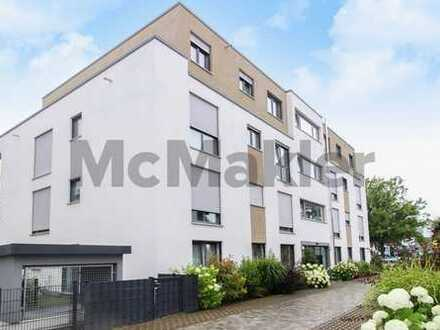 Modernes Wohnen: Gepflegte 3-Zi.-EG-Wohnung mit Terrasse und Garten