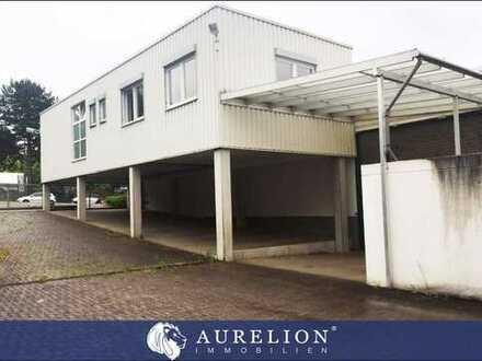 Produktions- und Lagerfläche mit Büro, Schwerlastboden, teils 6 m Deckenhöhe