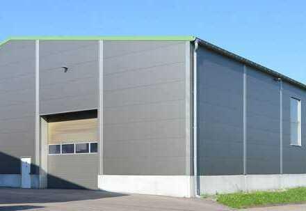 """""""BAUMÜLLER & CO."""" ca. 1.000 qm Halle + Büro - zum KAUF -"""
