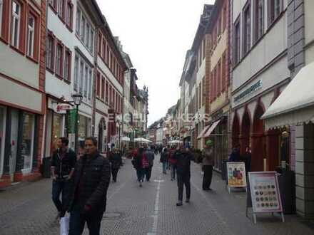 Top Ladenfläche im mittleren Teil der Heidelberger Hauptstraße