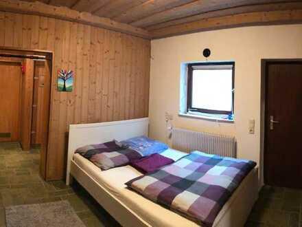 Gepflegtes 1-Zi.-Souterrain-Appartement (teilmöbliert) mit Kochnische in Bamberg-Berggebiet