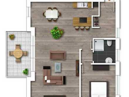 Neubau- Staffelgeschoss mit Weitblick in sehr guter Lage in Bergerhausen