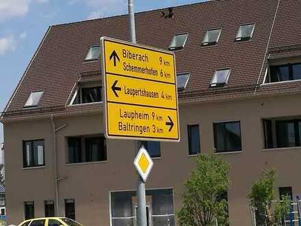 Barrierefreie 2-Zimmer-Wohnung zur Miete in Äpfingen