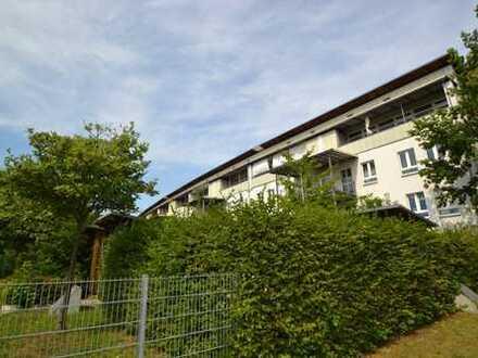Hochwertig ausgestattete 2 Zimmerwohnung mit moderner EBK, Parkett und riesigen Balkon ins Grüne!!