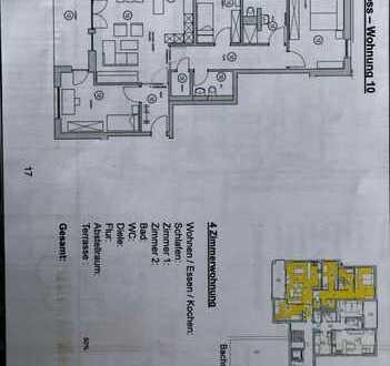 Erstbezug: attraktive 4-Zimmer-Wohnung mit Balkon in Oberboihingen