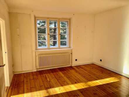Helle 5-Zimmer-Altbauwohnung mit Loggia und Garten - von privat - ohne Provision