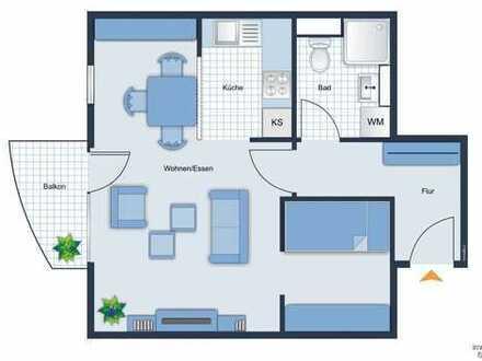 attraktive Wohnung, zentrumsnah, frei werdend im Februar !