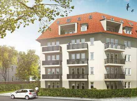 **Leben im Bienertviertel** Erstbezug im Neubau, 1-Raum-Wohnung mit Balkon