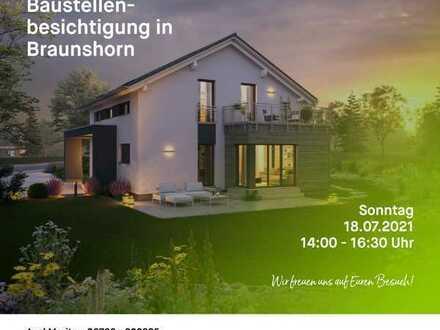 Einladung zur Hausbesichtigung am Sonntag den 18.7.21, von 14-16:30 Uhr in Braunshorn