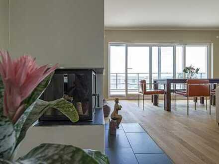 Wunderschöne, neuwertige 4-Zimmer-Penthouse-Wohnung mit großzügiger Dachterrasse