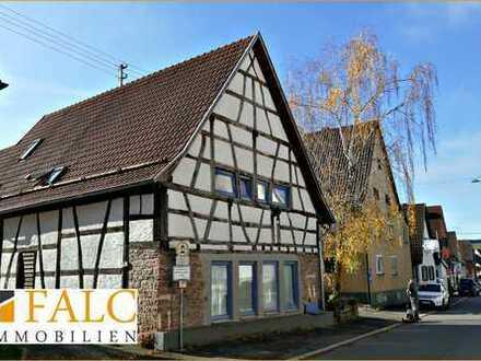 Charmantes Fachwerk: Dreifamilienhaus mit Garten (Lohrbach, Mosbach)