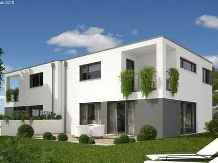 Moderne Doppelhaushälfte KfW55 in Neuenhausen / Mit Ihnen geplant und gebaut