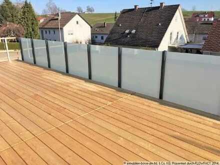 Hochwertige, neugebaute Doppelhaushälfte in Jettingen-Scheppach, in KFW 40- und Ziegel-/Holzbauweise