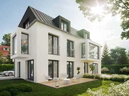 Architekten-Doppelhaushälfte in exponierter Lage