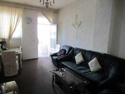 Bretten, 2Zi Wohnung , Hochparterre , Balkon, 44qm, ZH Gas,