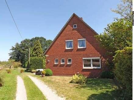 Gepflegtes Einfamilienhaus in Alleinlage nahe Wardenburg