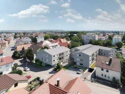 Wohnfreundliche 2-Zi-Wohnung mit Loggia im 2. OG (Whg. 20)