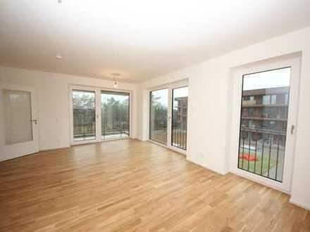 Schöne 2-Zimmer-Neubauwohnung mit West-Balkon!