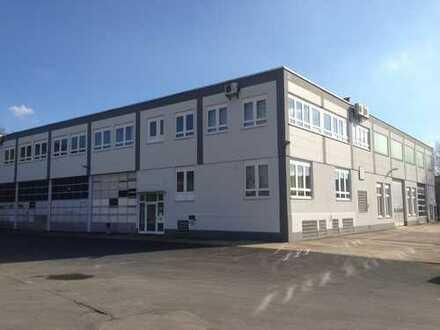 Produktions- / Lagerhalle | | Bürofläche (optional) | | flexible Mietvertragslaufzeiten