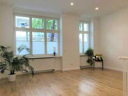 Saniert: auch als Ferienwohnung geeignet - EG-Büro in Charlottenburg – 3 Räume