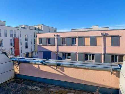 Seltene Gelegenheit: RMH mit toller Dachterrasse / Ackermannbogen / Olympiapark / Schwabing-West