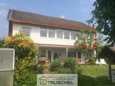 3 Zimmer OG-Wohnung mit Gartenanteil, Garage, Stellplatz in Wenigumstadt zu vermieten!