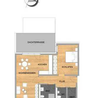 Exklusive Penthouse-Wohnung in bevorzugter Ortsrandlage von Swisttal-Buschhoven