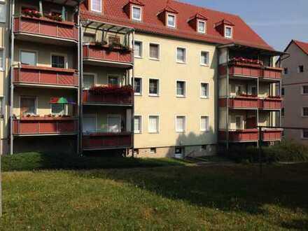 Helle renovierte 1-Raum Wohnung mit Balkon in ruhiger Wohnlage