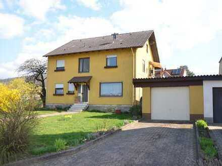 *HTR Immobilien GmbH* Schönes 1-2 FH mit Garage, Nebengebäude, Garten, Ausbaureserve, u.v.m.
