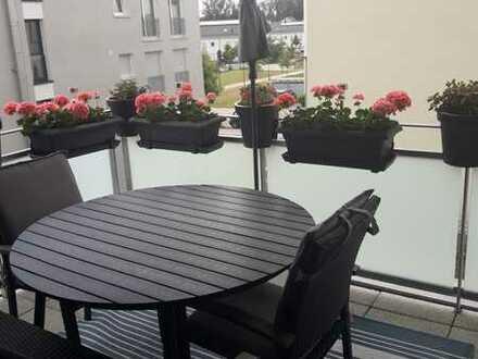 Stilvolle, neuwertige 2-Zimmer-Wohnung mit Balkon und Einbauküche in Bad Krozingen