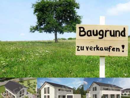 Baugrundstück für Einfamilienhaus in Pleß!