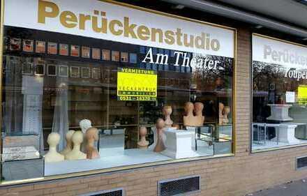 Ladenfläche am Steinweg nähe Theater in guter Lauflage von BS ! !!