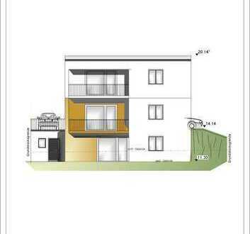 projektierter NEUBAU ! 3 ZKB, G-WC, Balkon und Stpl in einem 2-FH