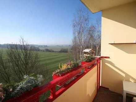 Idyllisch gelegene ETAGEN-Wohnung mit vielen EXTRAS in Oberlungwitz!!!