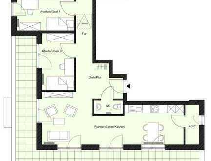 """Wohnen im Pfarrgarten"" - Haus B - 4-Zimmer-Wohnung im Dachgeschoss (Erstbezug)"