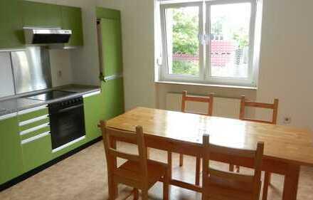 Preiswerte, gepflegte 2-Zimmer-EG-Wohnung mit überdachtem Balkon und EBK in Homburg