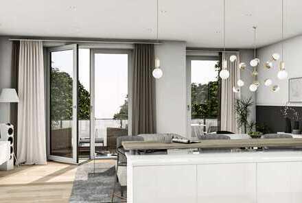 Exklusiver Neubau - 4,5 Zi., großer Balkon und Terrasse, 2 Bäder, Aufzug, Tiefgarage