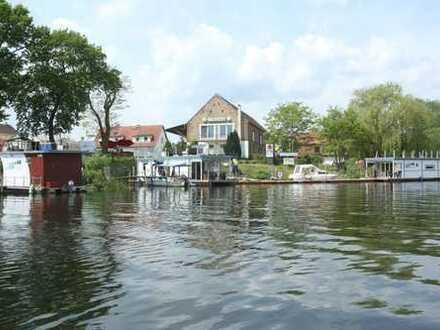 Marina-Kleinod an der Havel trifft Traum! Privat oder gewerblich nutzen - Einen Traum verwirklichen