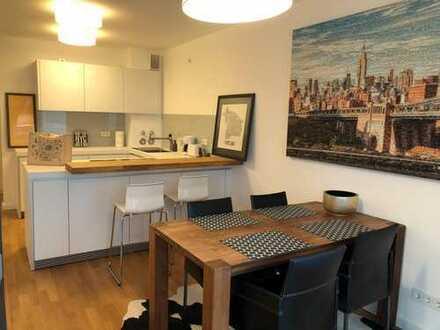 Vollmöblierte 2-Zimmer-Wohnung in zentraler Lage von Eppendorf zur befristeten Vermietung